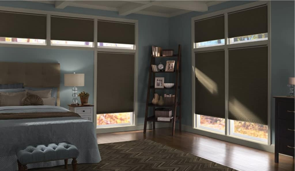 Room Darkening Honeycomb Blinds