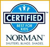 Certified Best for Kids blinds program