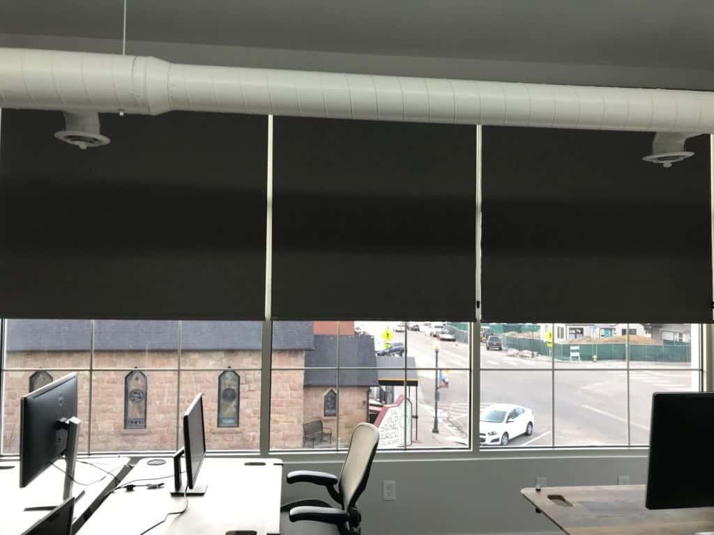 Wide Windows Norman Soluna Roller Shades