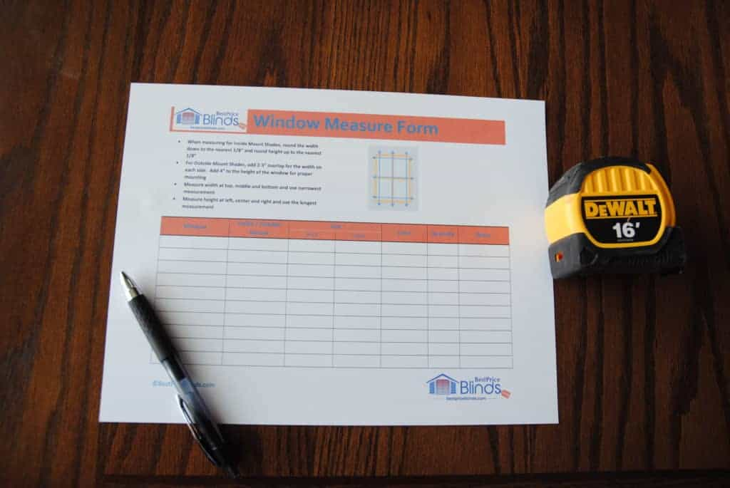 How To Install Blinds - Measure Tools Needed